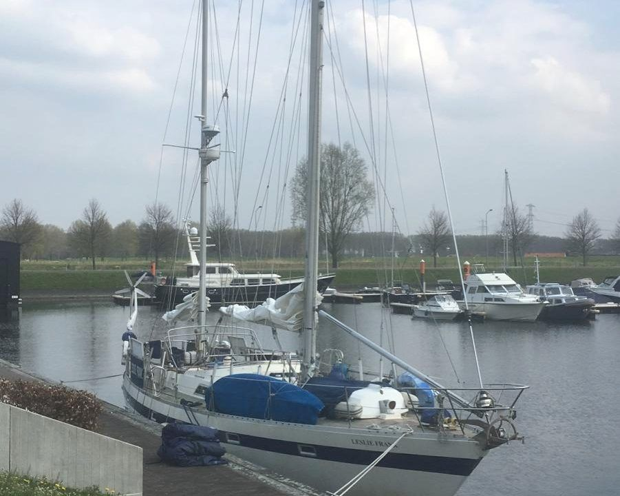 Moody Grenadier 134 ready for a yacht delivery from the Netherlands to the UK.