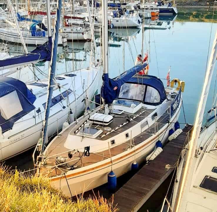 Yacht Delivery 	Philip Day – Westerly Discus – Rye to Suffolk Yacht Harbour