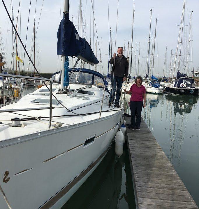 Beneteau Oceanis 373 safely delivered to Port Solent.