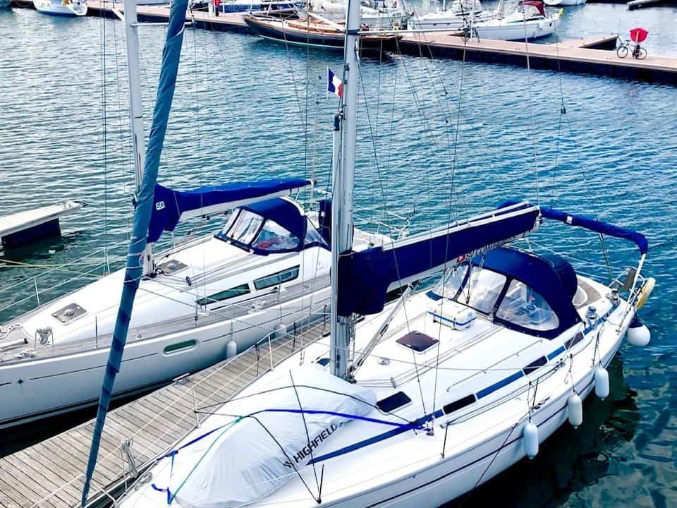 YachtDeliveryGavBurns–Bavaria–BresttoHamble