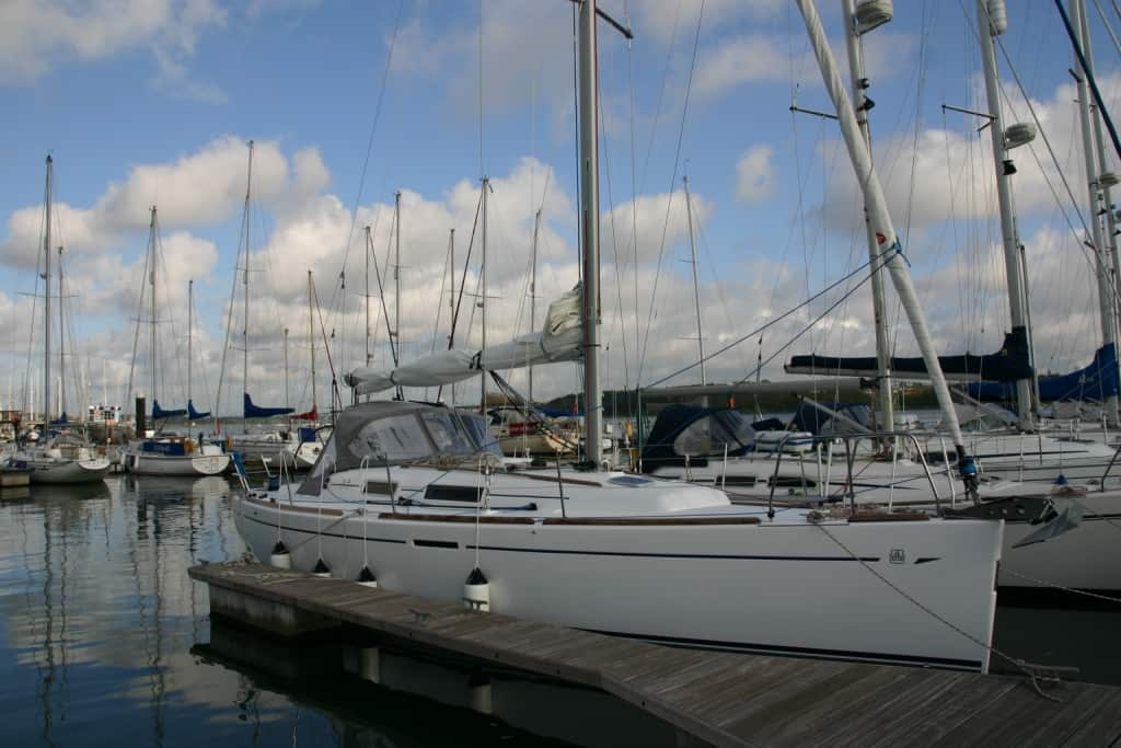 YachtDeliveryDufour–PlymouthtoIpswich