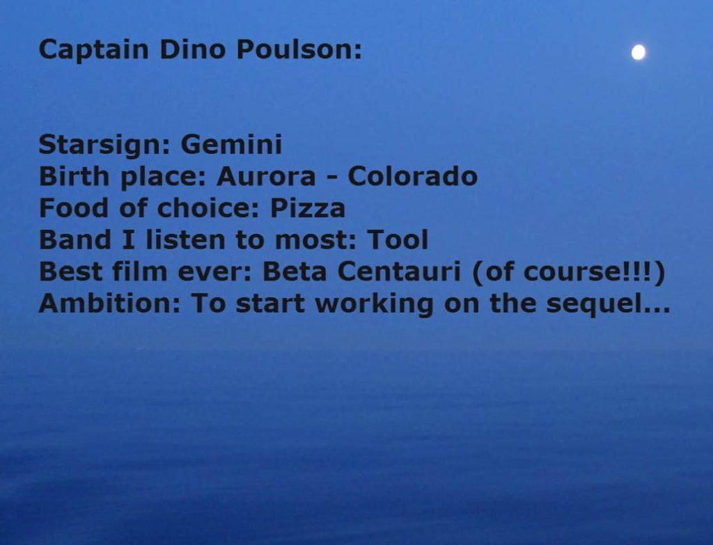 Captain Dino Poulson