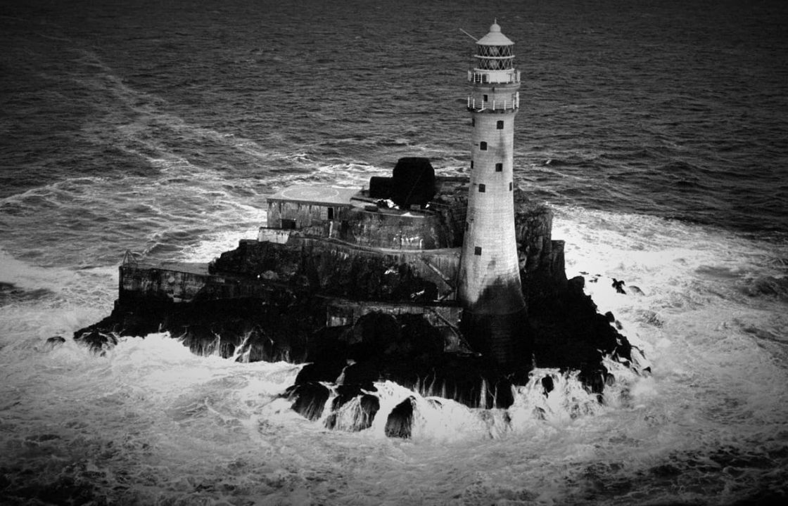 Fastnet rock and lighthouse