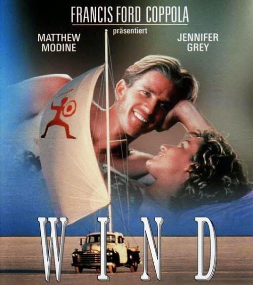 Wind sailing film
