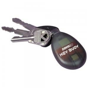 Stock photo of floating key fob for sailors.