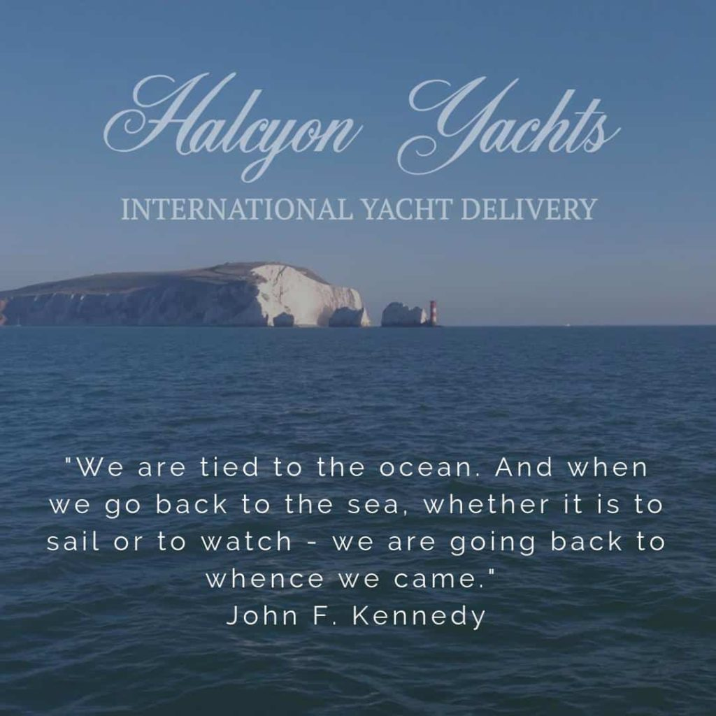 John F Kennedy Top Ten Quotes about the Sea