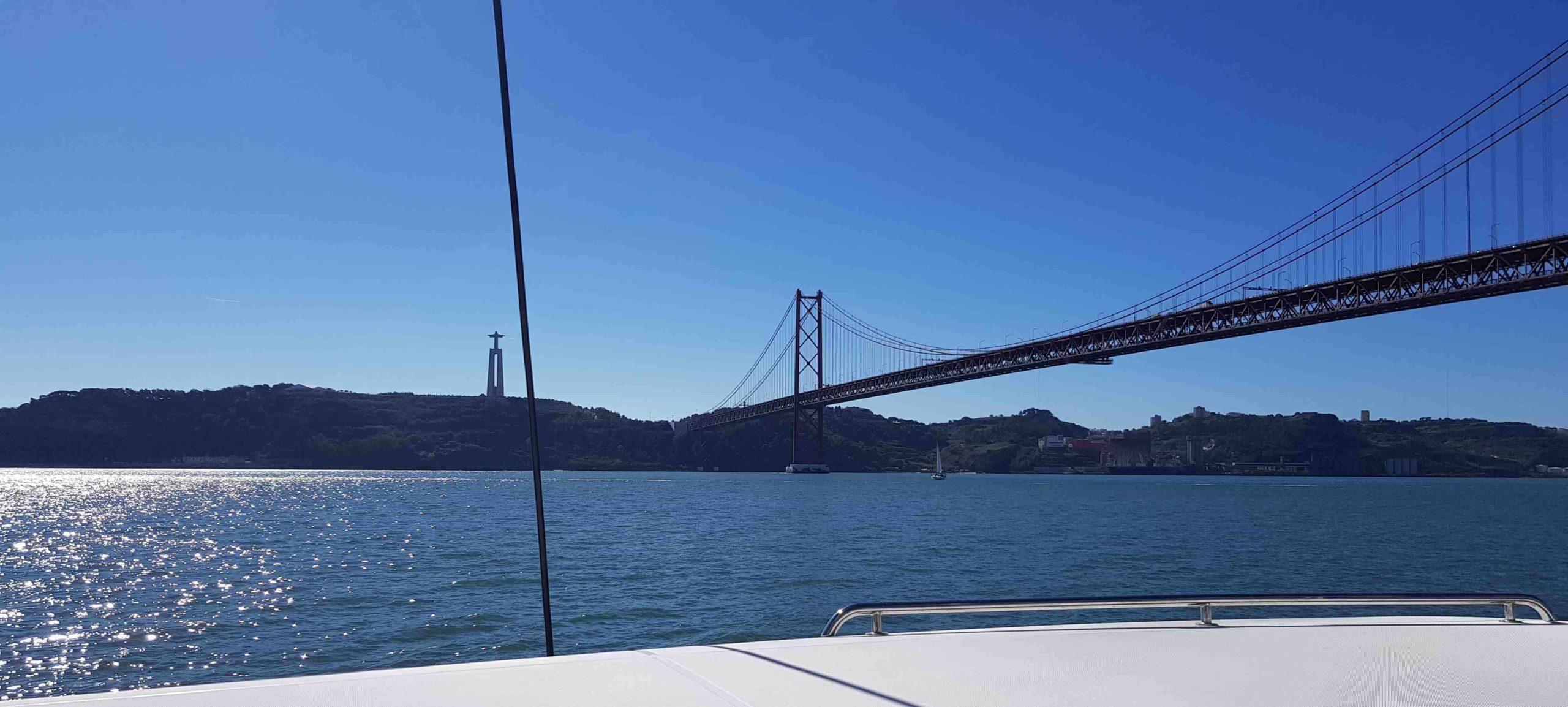 The Bridge 25 de Abril in Lisbon