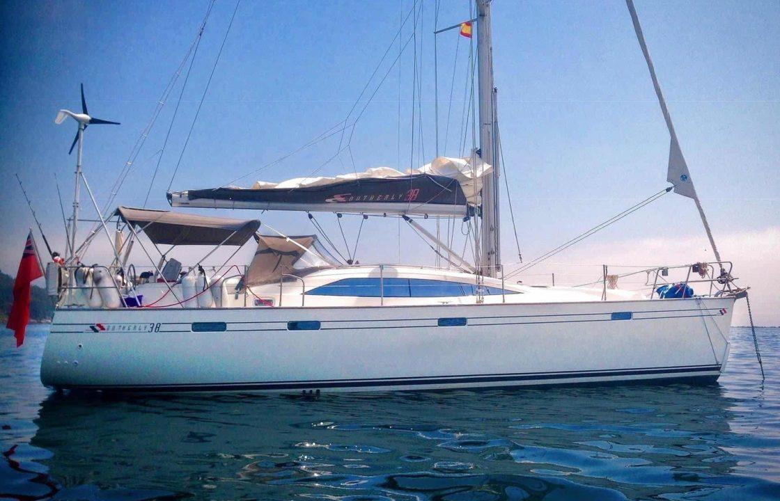 YachtDeliveryKeithGabriel–Southerly–LefkastoHamble