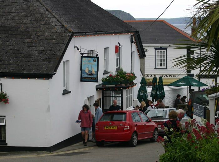 The Plume of Feathers Portscatho