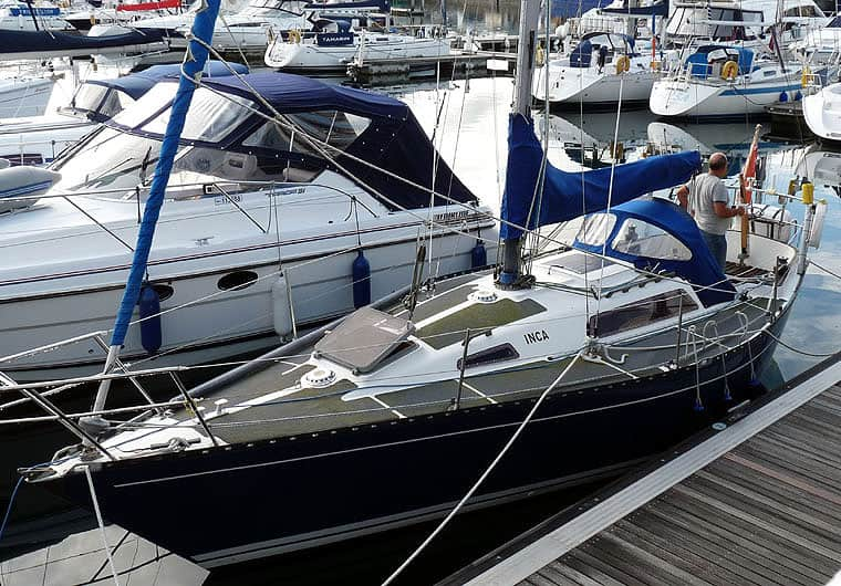 YachtDeliveryUFO–FalmouthtoRosslare